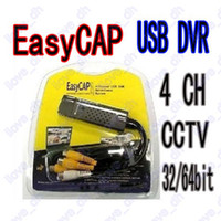 Wholesale Easycap Channel USB Video TV DVR VHS Audio Capture Adapter bit