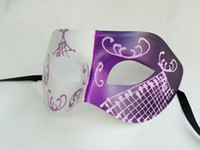 Wholesale Paper mask halloween mask Party face mask Masque Party
