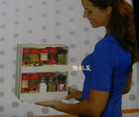 Wholesale Food rotating frame Food receive a box Condiment receive a box