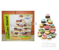 Wholesale Hot Sell New Tier Cupcake Stand Birthday Cake Stand