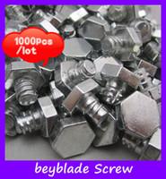 Metal metal parts - Beyblades Screw Accessories metal base metal spare parts base spinning top toy base metal screw