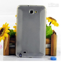 n7000 tpu - New Solid Color TPU Case Soft Back Cover Skin Gel Case for Note i9220 N7000 Many Colors