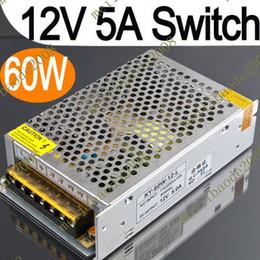 E33 12V 5 a 60W puissance approvisionnement pilote pour la commutation de bande de LED lampes