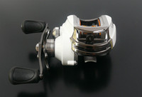 Wholesale fishing reel bait casting reel white fox right hand BB gear ratio