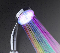 Wholesale Creative LED the flower is aspersed colour flicker the flower is aspersed colour shower head