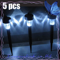 Wholesale 5pcs Hot New Garden decorations Solar Garden lights Lamp Solar Led Light