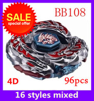 Wholesale Promotions metal fight Beyblade d BB108 metal fusion battles arena beyblades set games kids toys