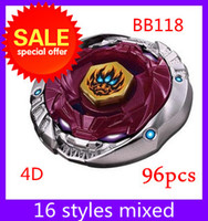 Wholesale Beyblade d BB118 metal master fusion battles models new mixed deliver GYRO kids toys
