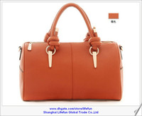 Wholesale PROMOTION Hot women ladies leather tote bag shoulder bag messenger bag boston bag handbag LF06133