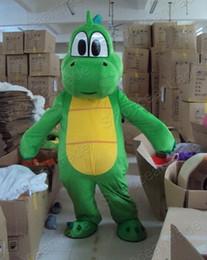 Wholesale Yoshi Dinosaur Super Mario Maskottchen mascot