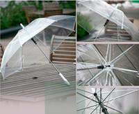 Wholesale transparent umbrella clear see through umbrellas