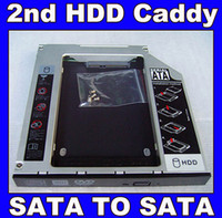 Wholesale New nd HDD Hard disk drive caddy Bay for Toshiba Qosmio X500 X505 X770 X775 replace UJ UJ