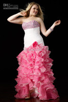 2012 Plus Size Strapless High Low Prom Dress 5671 Oraganza B...