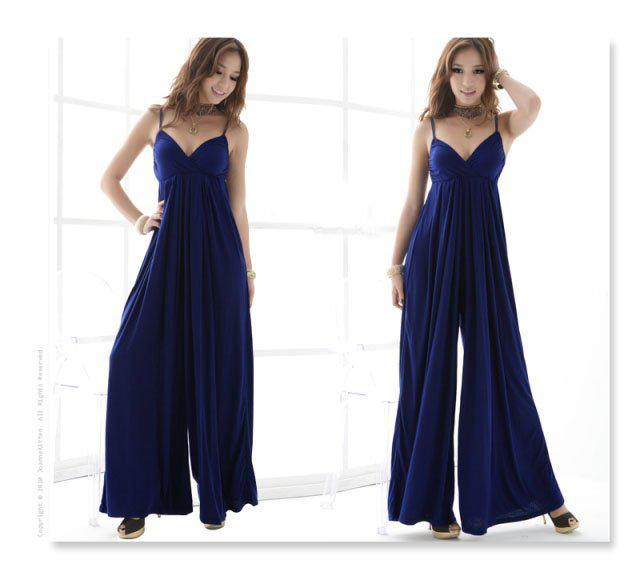 Evening Dress/ Sexy Wide Leg Pants Trousers /Jumpsuits/Size:L ...