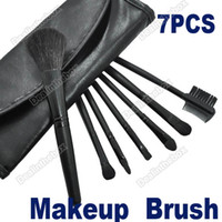 Wholesale Makeup Brush Makeup Brush Cosmetic Brushes Set With Case Black Professional And Beauty