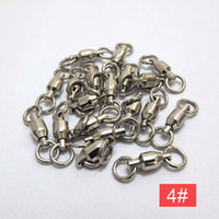 Wholesale 10pcs swivel fishing Accessories tools brand new Ball Bearing Swivels fishing tackle PJ84