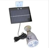 8   Solar LED lights solar indoor light 20LED split lamp (with remote)