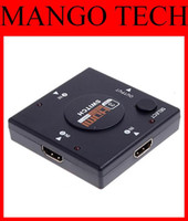 Wholesale HDMI Switch Splitter Switch Switcher Mini Port P for HD TV DVD good
