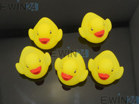 Baby Bath Toy Color Changing Flashing Yellow Duck LED Lamp L...
