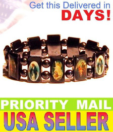 Wholesale Hotsale off Rosary Beads Bracelets Good wood UK Religious Jesus Bracelets Factory Price Brand New