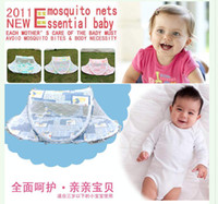 Babies Twin Circular Free shipping ,foldaway mosquito net bed canopy for newborn baby sleep night mosquito netting