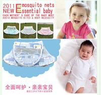 Babies Twin Circular Free shipping ,foldaway mosquito net bed canopy for newborn baby sleep night mosquito netting