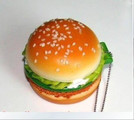 2017 /Kawaii Hamburger Squishy Charm/Pocket Cosmetic Mirror/Mobile Strap/Bag Pendant/Toys From ...