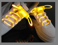 Wholesale 5pairs LED flashing shoelace Light up shoelaces shoe laces Colorful fashion led shoelace