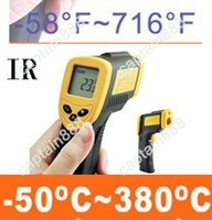 Wholesale Infra red IR Thermometer With Laser C Digital Termometer LCD H1779 DT