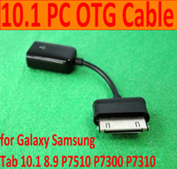 Wholesale USB OTG host data cable for Galaxy Samsung Tab P7510 OTG kit OTG adapter