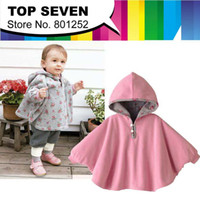 baby wearing poncho - Two sided wear Reversible baby capes jackets cloaks baby romper babies clothing infants Quality