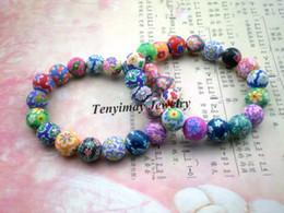 Wholesale Fashion polymer clay bracelets Bohemian beaded bracelets Kid s gift