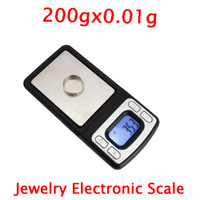 Wholesale 200gx0 g Electronic Scales Jewelry Scales Brand New Mini Ship From USA T00509
