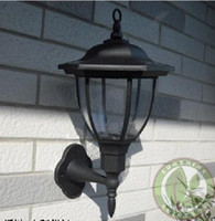 Wholesale Outdoor Solar wall light Lamp LED Palace design