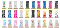 venda por atacado and plastic flower vases-DHL gratuito PVC Folding vaso de flor PVC Vaso Vaso de plástico dobrável Handreds Designs MIX