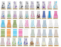 Wholesale DHL Free PVC Folding Flower Vase PVC Vase Foldable Plastic Vase Handreds Designs MIX Size M