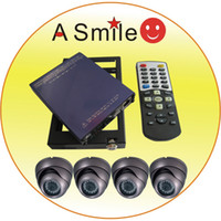 Wholesale best sell4 channel car dvr bus taxi system GPS sony cameras EMS DHL from ASmile
