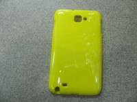 Wholesale TPU Case Glossy Shiny Multicolor for Galaxy Note N7000 I9220 Accessories