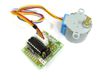 Cheap 20 PCS LOT DC 5V 4-Phase 5-Wire Gear Stepper Step Motor with ULN2003 Driver Board #090055