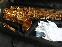 Wholesale VOS Brand Alto Saxophone Golden New