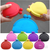 Wholesale Cute POCHI Lovely Silicone bag coin purse bag key case store package