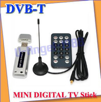 Wholesale DVB T for LAPTOP PC MINI DIGITAL TV Tuner USB Stick HDTV