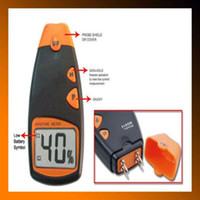 Wholesale New MD Digital LCD Pins Wood Cotton Moisture Meter Humidity Tester