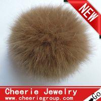 ball express - 5cm rabbit fur ball rabbit Pom Pom ball various colors set free DHL Fedex express
