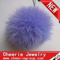 rabbit fur ball arts rabbit - hot selling cm rabbit fur ball rabbit Pom Pom ball set free Fedex DHL shipping
