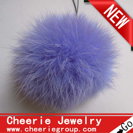 hot selling 10cm rabbit fur ball, rabbit Pom Pom ball, 50pcs set, free Fedex DHL shipping