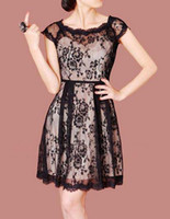 2015 Spring Women' s Dresses E04 Elegant Full Lace Big S...