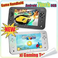7 inch screen games - xi Gaming Tablet PC S7100 Android capacitive Screen Game Handheld G M Cortex A9 HOT