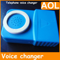 Universal bands changer - 2012 NEW Band Handheld televoicer telephone voice changer child man woman change as you like gift