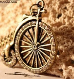 The Girl Necklace Fashion Jewelry Diamond Necklace Sweater Chain Bicycle Restoring Ancient Ways